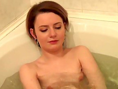Bath POV with a hot blowjob on it
